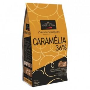 Caramélia 36% milk and caramel chocolate Gourmet Creation beans 3 kg