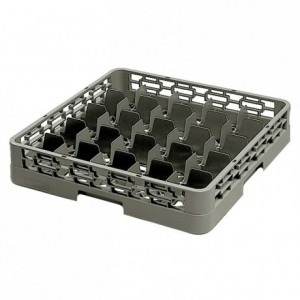 25-compartment glass tray 91 x 91 x 100 mm