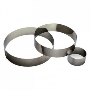 ?Mousse ring stainless steel H45 Ø 70 mm