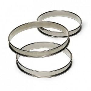Tart ring stainless steel H27 Ø100 mm