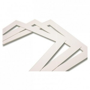 Chablon frame for biscuits plastic 3 mm 570 x 370 mm