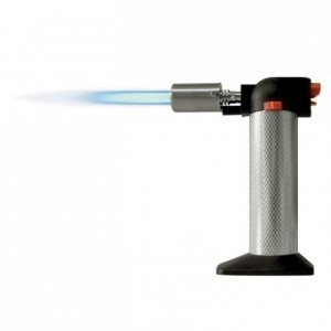 Chargeable sugar blow torch 130 x 70 x 160 mm