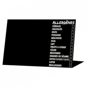 Allergen information easel (10 pcs)
