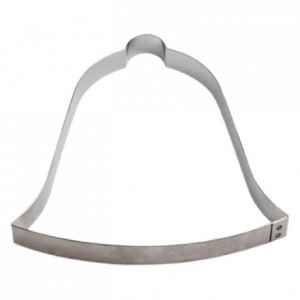 Bell stainless steel H15 155x155 mm