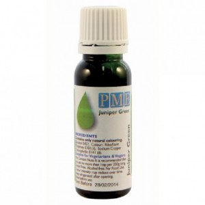 PME Food Colour Juniper Green 25g