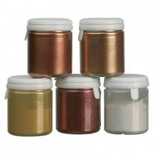 Copper colouring powder