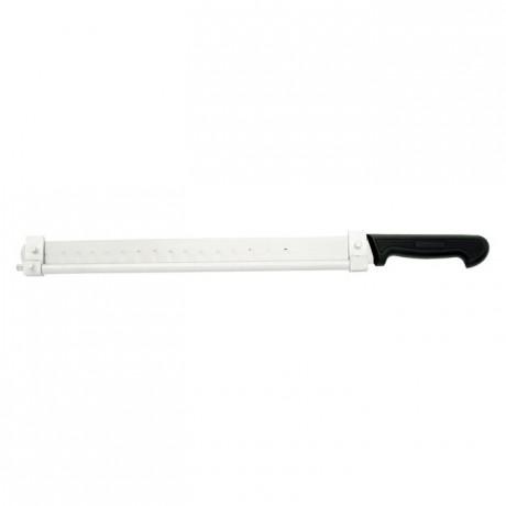 Adjustable slicing knife L 400 mm