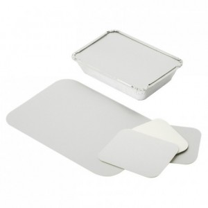 Cardboard cover for tray with vertical edge ref 361401 (1000 pcs)