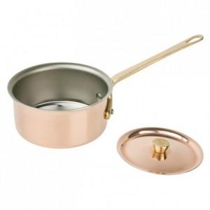 Lid Elegance copper/stainless steel Ø 90 mm