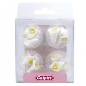 Culpitt Sugar Decorations Mini Calla Lily pk/12