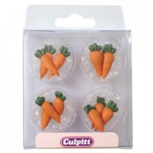 Culpitt Sugar Decorations Carrots pk/12