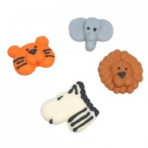 Culpitt Sugar decorations Animal Faces 12 pcs.
