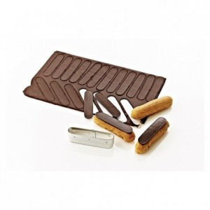 Cutter for frosting eclair stainless steel