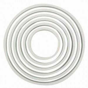 PME Plastic Cutter Circle Set/6