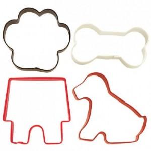 Wilton Cookie Cutter Pet Theme set/4