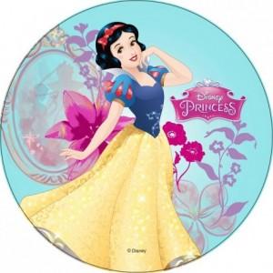 Sugar paste disc Disney princess 22 cm