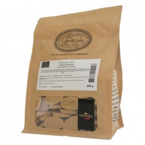 Dulcey 32% blond chocolate Gourmet Creation beans 500 g