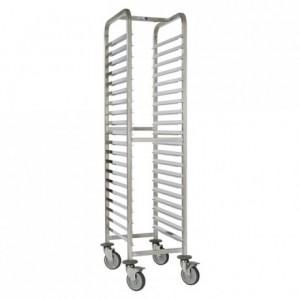 20-shelf sliding tray gastronorm Exceptio GN 1/1 630 x 460 x 1700 mm