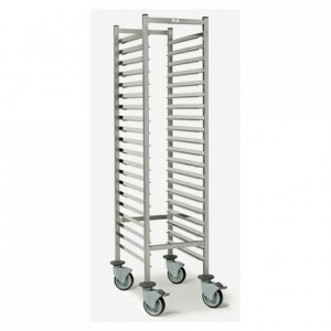 20-shelf pastry trolley Optimo GN 1/1 325 x 460 x 1790 mm