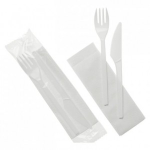 Cutlery packed 3 in 1 (250 pcs)