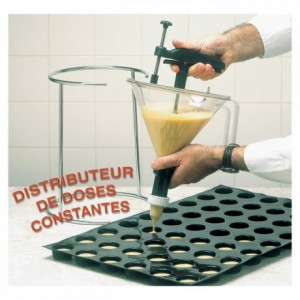 Automatic portionner funnel 1.5 L