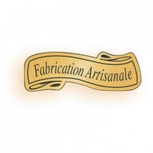"Adhesive label ""Fabrication artisanale"" (1000 pcs)"