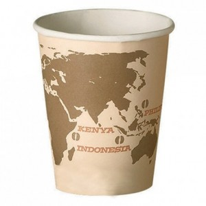 """World map"" tumbler 18 cL (75 pcs)"