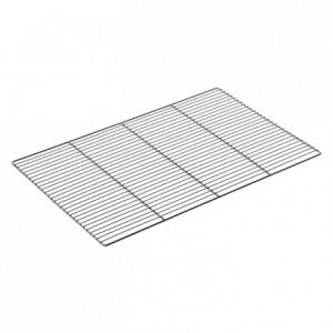 Flat chromed grid 600 x 400 mm (5 pcs)