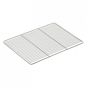 Flat grid stainless steel 400 x 300 mm