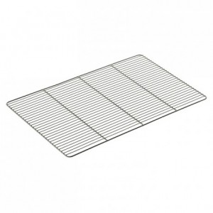 Flat grid stainless steel 600 x 400 mm