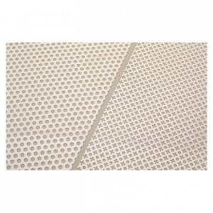 Biscuit stencil grill clovers - small size discs