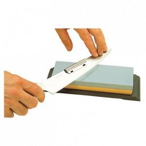 2 knife sharpening guide rails