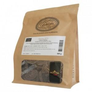 Illanka 63% dark chocolate Single Origin Grand Cru Peru beans 500 g