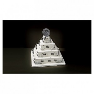 Complete kit French style Wedding Cake square