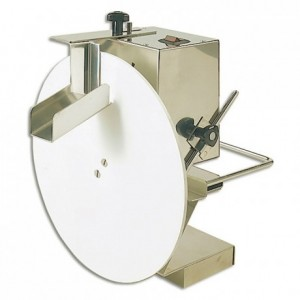 Chocolate dispenser disk + scraper set Ø 300 mm