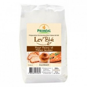 Organic wheat leaven 260 g