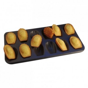 Madeleine pan 12 imprints non-stick 395x200 mm