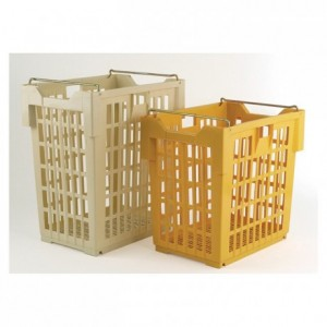 Stackable and nestable bread basket 180 L