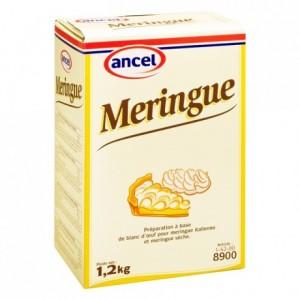 Meringue mix for meringue 1,2 kg