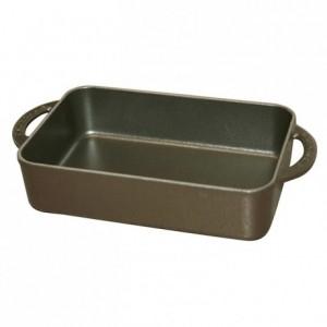 Mini-tray cast iron black L 230 mm