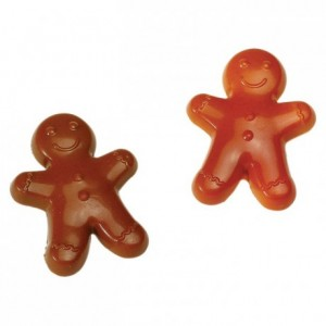 Ginger man chocolate mould in polycarbonate 275 x 135 mm