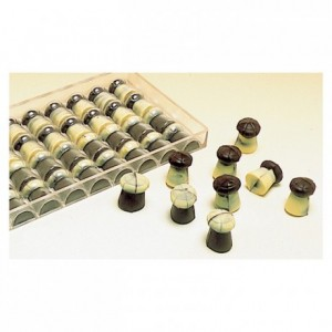 Chocolate mould polycarbonate 12 champagne corks