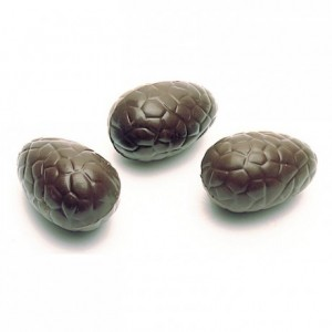 Chocolate mould polycarbonate 13 crackled half eggs