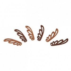 Butterfly decoration chocolate mould in polycarbonate 275 x 175 mm (18 moulds)