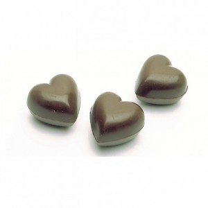 Chocolate mould polycarbonate 21 hearts