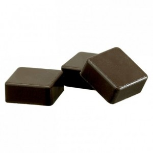 Chocolate mould polycarbonate 24 square shells