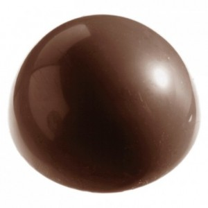 Chocolate mould polycarbonate 6 half sphere
