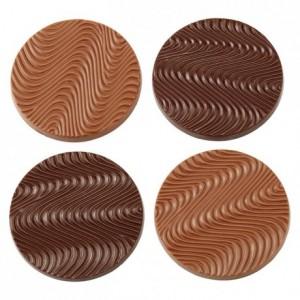 Chocolate mould polycarbonate 8 mendiant disk