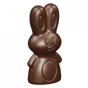 Little rabbits mould in polycarbonate 275 x 135 mm