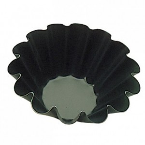 10 wave brioche mould Exopan Ø 100 mm H 40 mm
